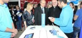 افتتاح المعرض التكنولوجي الأول في جامعة الحكمة