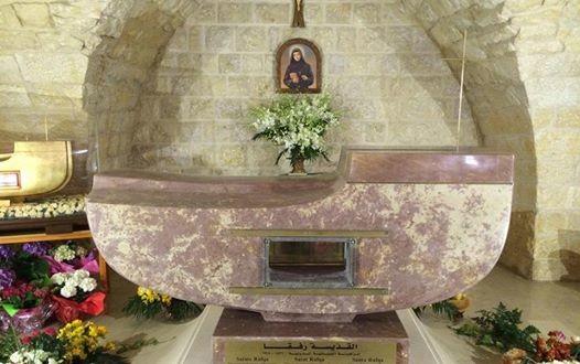 الغصين حاضرت عن القديسة رفقا: أم ومعلمة في دير مار يوسف جربتا