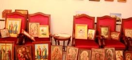 ايقونات دينية مسروقة من سوريا في عهدة المطران درويش