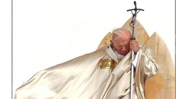 رعية بزيزا احتفلت بعيد ميلاد القديس يوحنا بولس الثاني