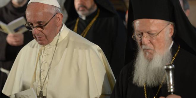 كلمة البابا فرنسيس خلال اللقاء المسكوني في كنيسة القيامة في القدس