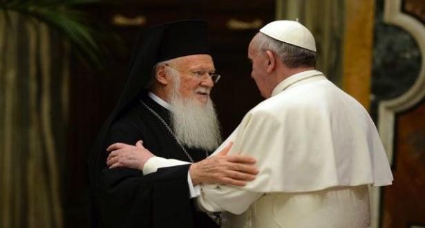 """البطريرك المسكوني ينتظر البابا في القدس """"لإعلان مشترك"""" برتلماوس: """"سنقول أن قصد كل منا هو العمل أكثر للوحدة"""""""