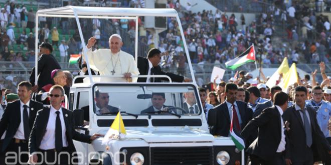 البابا فرنسيس يعبر عن دهشته من عمق ضيافة الشعب الأردني
