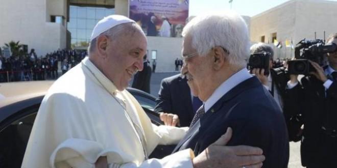 البابا يدعو الى انهاء الوضع غير المقبول في النزاع الاسرائيلي الفلسطيني