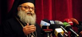 """يوحنا العاشر أعلن عن مؤتمر """"الوحدة"""": لا نريد أن يصل لبنان إلى الفراغ"""
