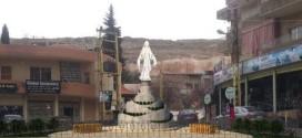 ازاحة الستار عن مجسم للعذراء في حي مارجرجس في بعلبك وكلمات اكدت اهمية التلاقي والعيش المشترك