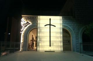 حبيقة في تدشين كابيللا على اسم القديس يوحنا بولس الثاني في زحلة: كان واثقا بقدرة اللبنانيين على العيش معا واعادة لبنان أجمل مما كان