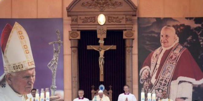 كلمة البطريرك الطوال الترحيبية في القداس البابوي في عمان