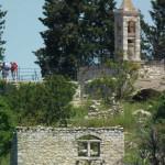 مشهد لكنيسة كفر برعم من عين الصفرا