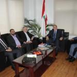 الوزير محمد المشنوق يستقبل لابورا