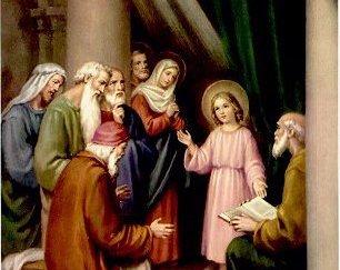 وجود يسوع في الهيكل تأملات للشهر المريمي بقلم  الأنبا كريكور أوغسطينوس كوسا