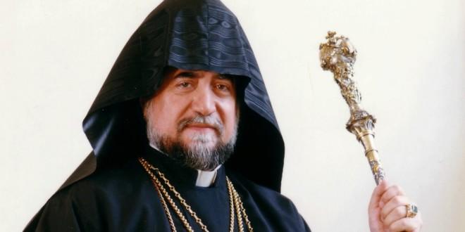 آرام الأول قابل البابا فرنسيس