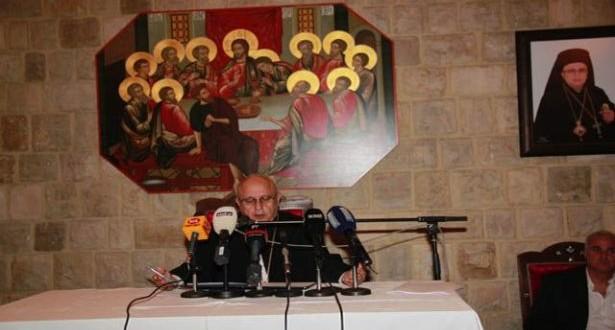 اجتماع كاثوليكي في زحلة دان التعرض للواء قرعة درويش: كفى استهدافاً لمراكز الطائفة في الدولة