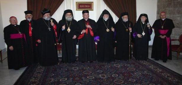 بطاركة الشّرق الكاثوليك يزورون الرّئيس العراقيّ