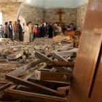 كنيسة مدمّرة في العراق