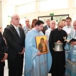 المطران درويش يكرس مستشفى تلشيحا لمريم العذراء