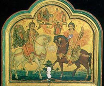 مسيرة صلاة في القبيات في عيد القديسين سركيس وباخوس