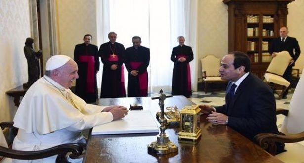 السفير البابوي في القاهرة يتحدّث عن زيارة البابا فرنسيس