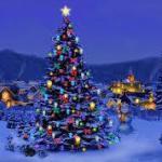 إضاءة شجرة الميلاد في العباسية