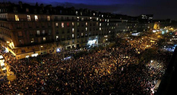مدّ بشري من كل الألوان والأديان لم تشهد باريس مثيلاً له مسيرة تاريخية تؤذن بمرحلة جديدة ضد الإرهاب في أوروبا والعالم