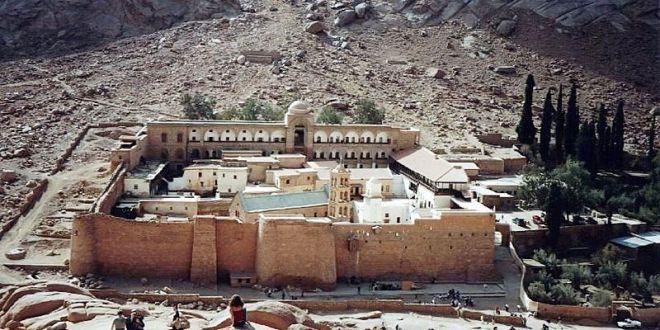«دير سانت كاترين» رمز التسامح بين الأديان في مصر
