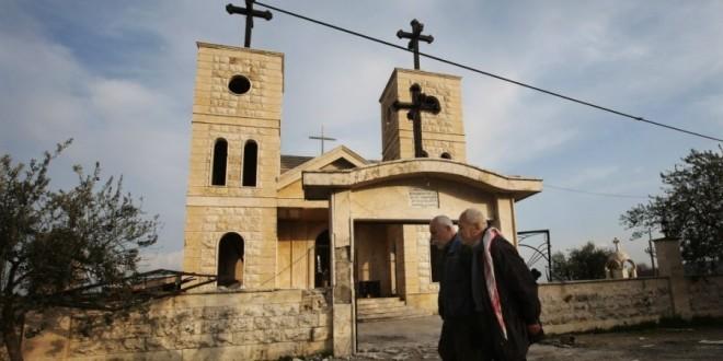 مسيحيو سوريا يحاصرهم العدو  والأمل موجود ولكن المستقبل مجهول