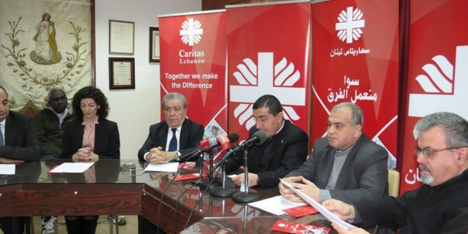 """كاريتاس لبنان تطلق حملة المشاركة السنوية  تحت عنوان """"سوا منعمل الفرق"""""""