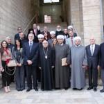 لقاء مسيحي اسلامي بزحلة في عيد البشارة