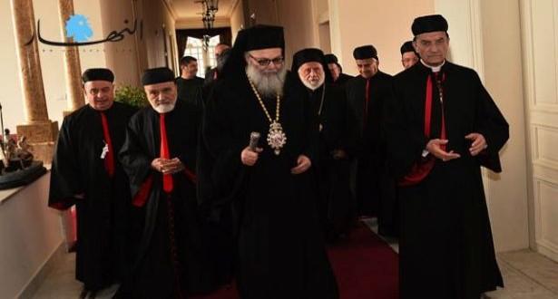 الراعي التقى اغناطيوس ومجلس الكاثوليك ضاهر: همّ البطريركية المارونية بقاء لبنان