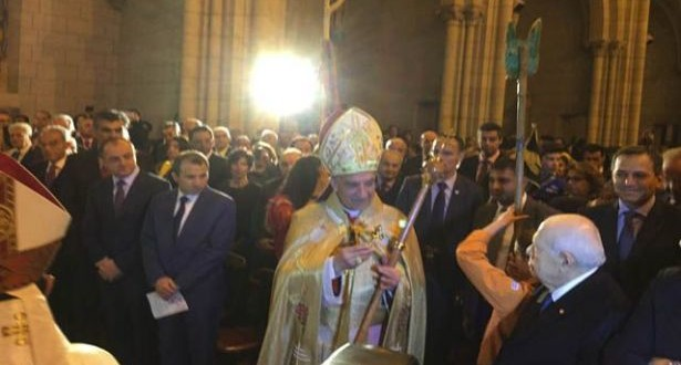 الراعي دشّن مطرانية فرنسا للموارنة وناشد المجتمع الدولي حماية مسيحيي الشرق