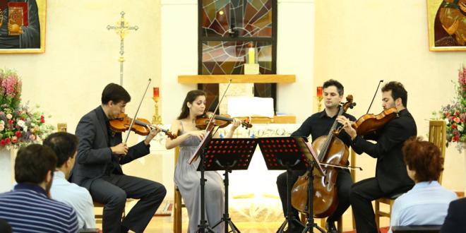 الرباعي Arco Quartet  يحيي أمسية موسيقيّة كلاسيكية في الجامعة الأنطونيّة