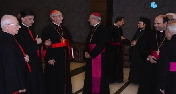 مامبرتي التقى رؤساء طوائف في بكركي: المسيحيّون ينظرون إليكم وحان وقت الانتخاب