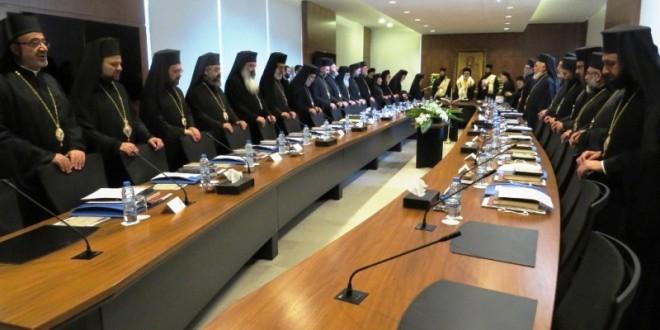 افتتاح أعمال المجمع الأنطاكي للروم الأرثوذكس في البلمند