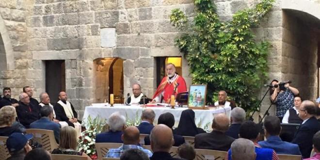 شهوان في قداس عيد مار يوحنا في رشميا: الشرق يفرغ من المسيحيين لكننا لن ننهزم