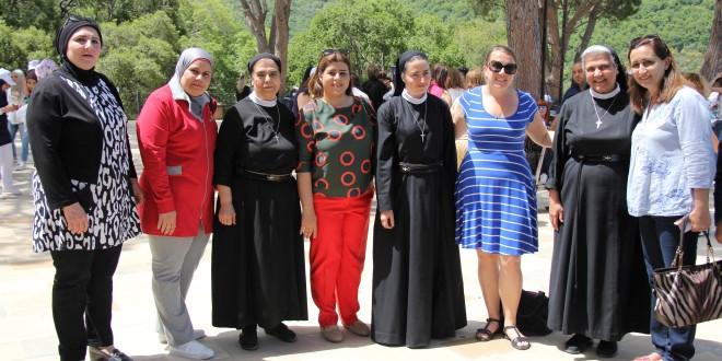 """جمعية """"معكم"""" نظمت رحلة تبادل ثقافي الى جربتا وراشانا"""