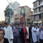 مسيرة صلاة في زغرتا لمناسبة اختتام الشهر المريمي