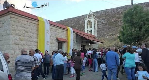 سردا الحدودية تحتفل بشفيعها القديس يوحنا والوقف الماروني يقدم أراضي لتجذير أبنائها