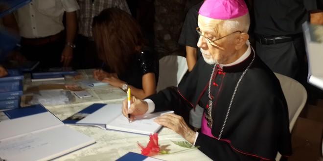 توقيع كتاب الفاتيكان في معانيه ومبانيه للسفير البابوي فرحات