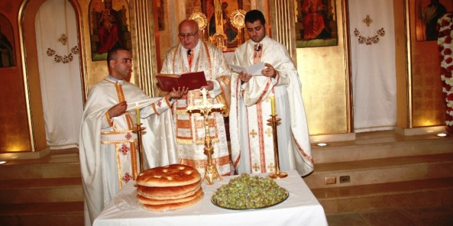 درويش ترأس قداس عيد التجلي في كنيسة مار الياس المخلصية زحلة