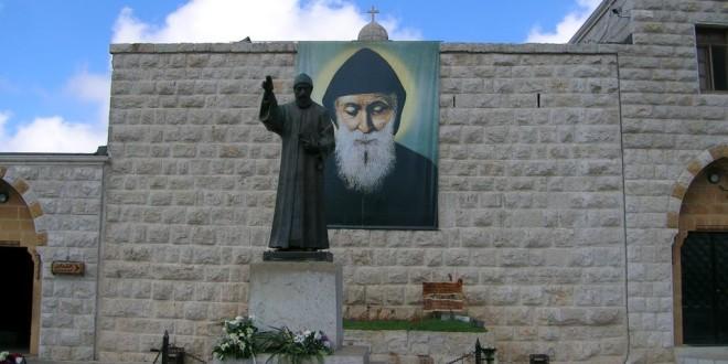 قداس في دير القديس شربل الاحد برئاسة المطران رحمه