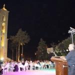 عشاء ولقاء وطني جامع في ساحة كنيسة جدرا