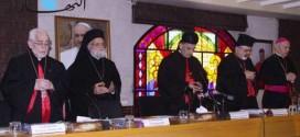 مجلس البطاركة الكاثوليك بدأ أعماله في بكركي الراعي وكاتشا شدّدا على أهمية انتخاب رئيس