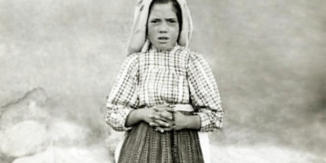 الأخت لوسيا تحمل أوجاع عالم القرن العشرين تتكلل المرحلة الأبرشية بتطويبها!