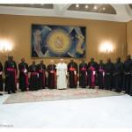 البابا فرنسيس والأساقفة السودانيون