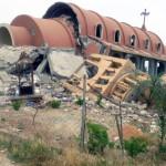 كنيسة مدمّرة