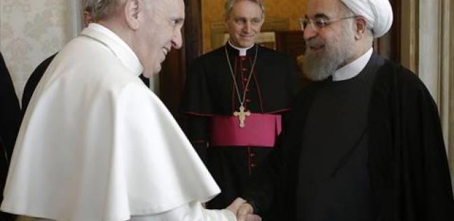 لقاء بيـن البابا والرئيس الايراني في الفاتيكان تشجيع على حلول سياسية في الشرق الاوسط
