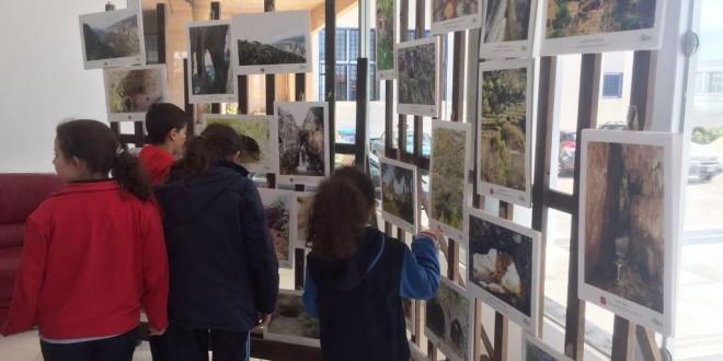 الوادي المقدس في المعرض السنوي للمدرسة الانطونية في عجلتون