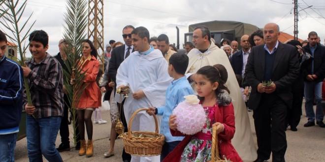 احتفالات أحد الشعانين في عكار