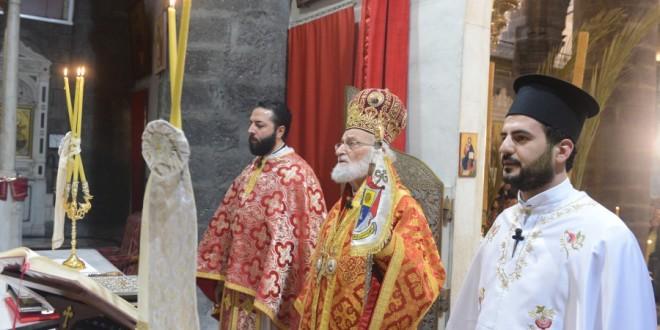 البطريرك لحام: طريق القيامة .طريق القدس! طريق دمشق!