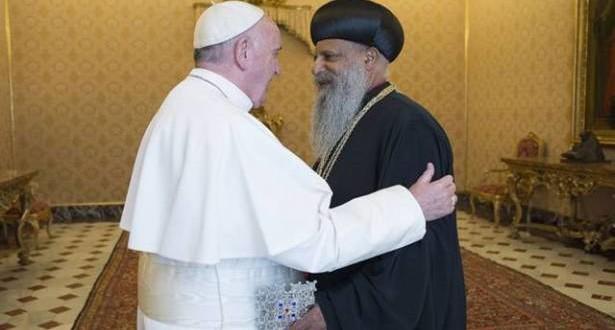 البابا التقى بطريرك أثيوبيا للارثوذكس ونّدد بالعنف ضد المسيحيّين